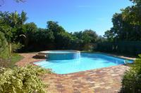 House in South Africa, Cape Town: Main pool with warm paddling pool