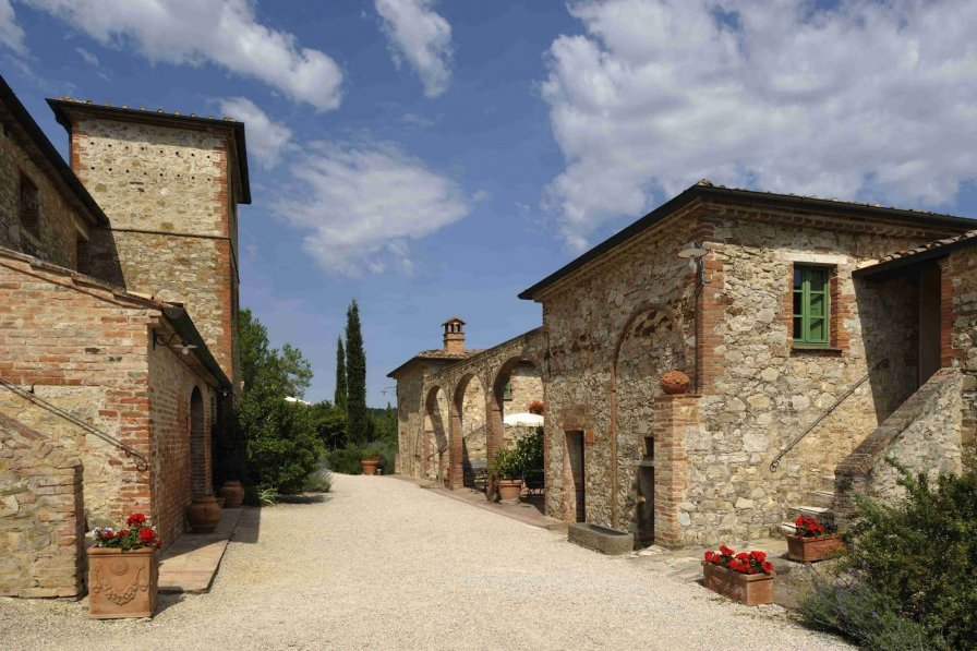 House in Italy, Asciano