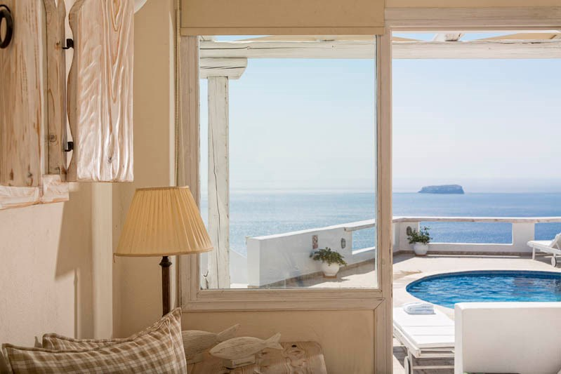 Studio apartment in Greece, Santorini