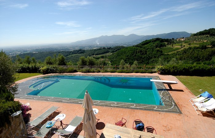 Villa to rent in lucca italy with private pool 123968 - Hotels in lucca italy with swimming pool ...