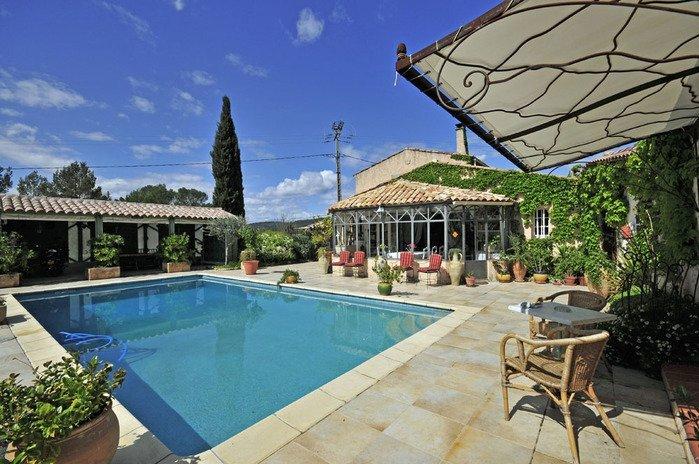 Villa in France, Cotignac