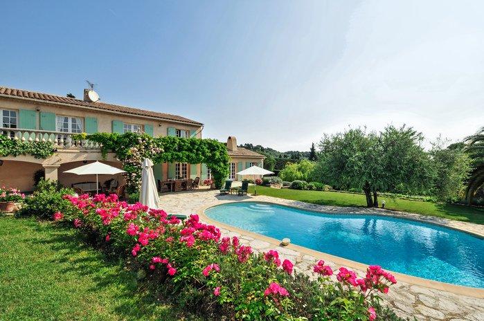 Villa in France, Valbonne