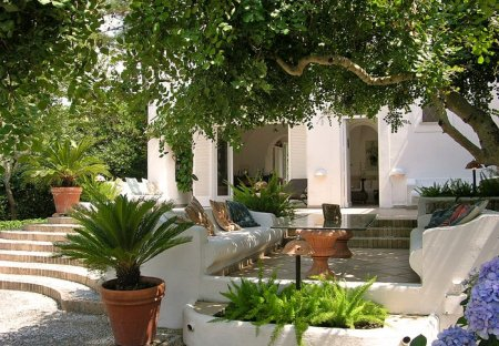 Villa in Anacapri, Italy
