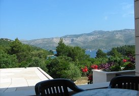 Holiday flat on Korcula island