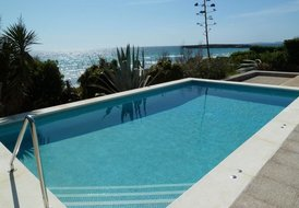 Mediterranean villa by the beach, Santo Tomas