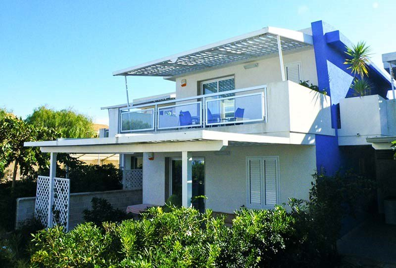 House in Italy, Marina di Ragusa: External view