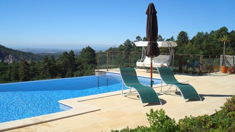 Villa in Portugal, Monchique: Infinty pool and Views