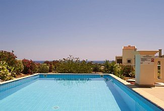Villa in Greece, Lindos: Private pool with stunning views.