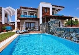 Stunning beachfront Villa with infinity pool Rhodes, Greece
