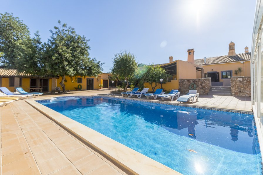Villa To Rent In Espargal Algarve With Private Pool 124494