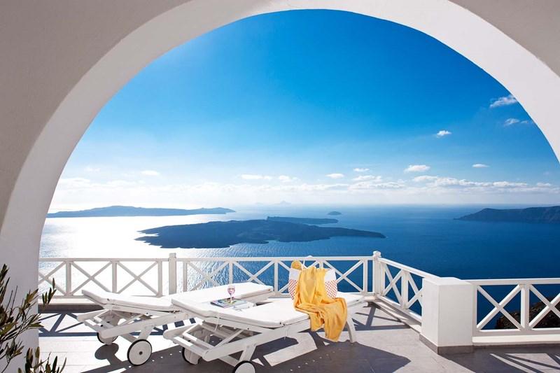 Studio apartment in Greece, Imerovigli