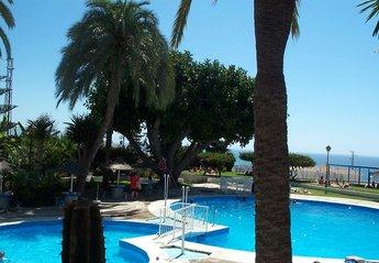Studio Apartment in Spain, Punta Lara: Swimming Pool