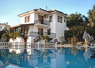 Villa in Turkey, Ovacik: Uner Villa 5 from pool
