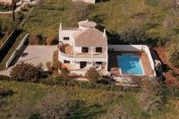 Villa in Portugal, Praia da Luz: Casa Alimas from the air - taken in winter!