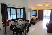 House in Thailand, Chaweng: Lounge dining area