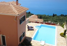 Private villa with pool, seaviews, magical sunsets - Villa Melina