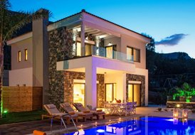 Irida Villa Luxury villa with private heated pool in Crete