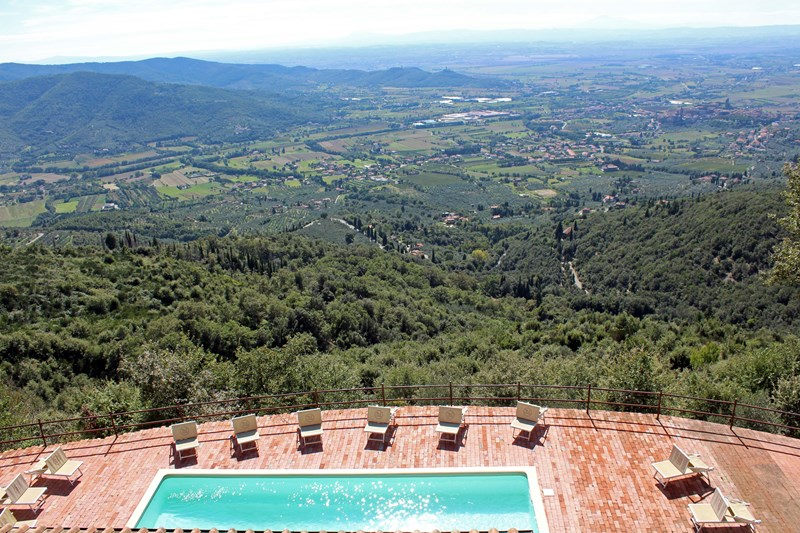 Villa in Italy, Arezzo: Absolute WOW views