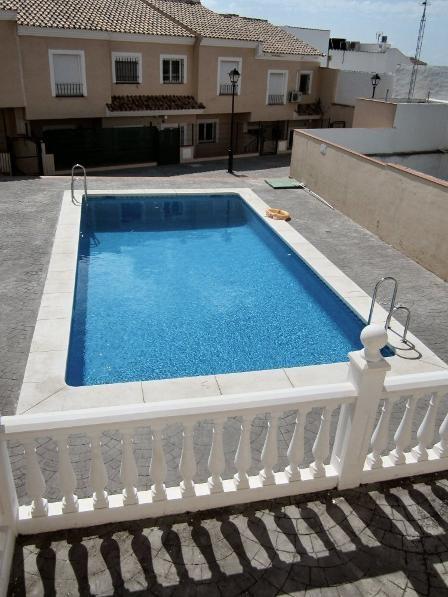 Village house in Spain, Villanueva de la Concepción: 11m x 5m swimming pool