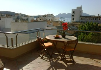 Apartment in Spain, Puerto Pollensa: Al Fresco Dining