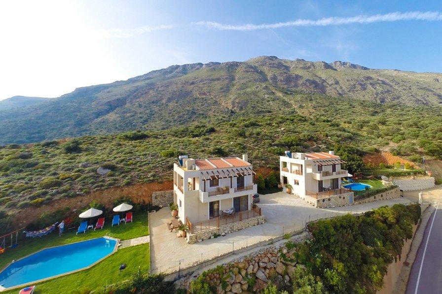 Triopetra Villas Panagia, Akoumia, Rethymnon