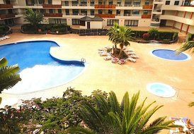 Spacious 2 bedroom apartment with large terrace in Los Gigantes