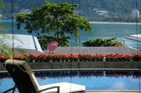 Ocean front serviced luxury pool villa