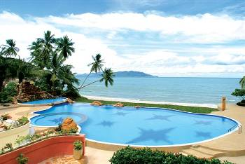 Villa in Thailand, Choeng Mon: Coco Pool and Jacuzzi