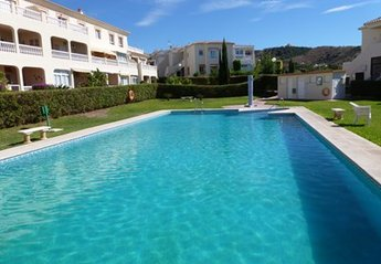 Apartment in Spain, English Gardens - Torrox Park: Big communal pool