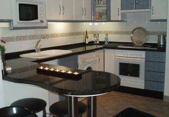 Studio Apartment in Spain, La Manga Club: The Kitchen