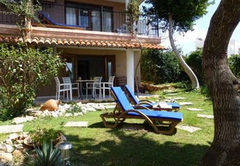 Apartment in Turkey, Kalkan: Welcome to our ground floor apartments, Cactus 220, set in a lawned g..