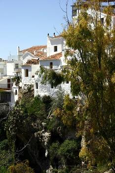 Village house in Spain, Competa: Outside view