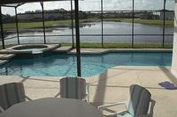 Villa in USA, Crescent Lakes: Pool and Lake View