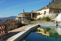Farm_house in Spain, Alpujarras: View of house and pool