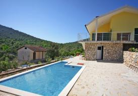 Villa with pool in Vinsce, Trogir