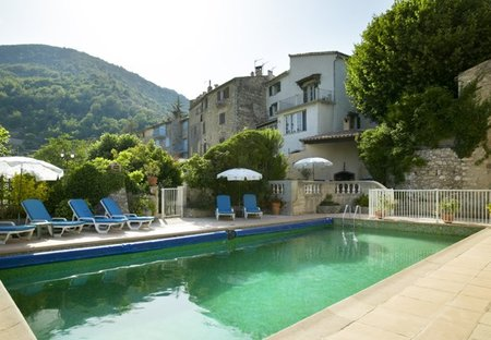 Villa in Cipières, the South of France: The Pool