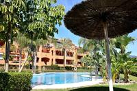 Apartment in Spain, Los Gazules del Sol: Lovely pool and garden area in front of apartment