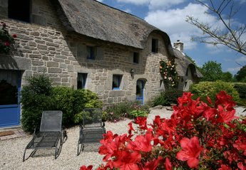 Cottage in France, Lorient: La Chaumiere