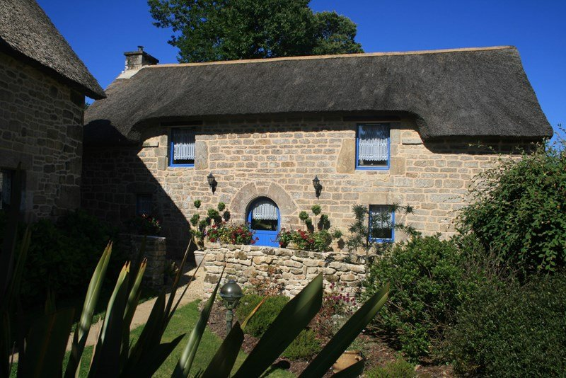Owners abroad La Grange - Brittany Thatched Cottages - Heated Swimming Pool