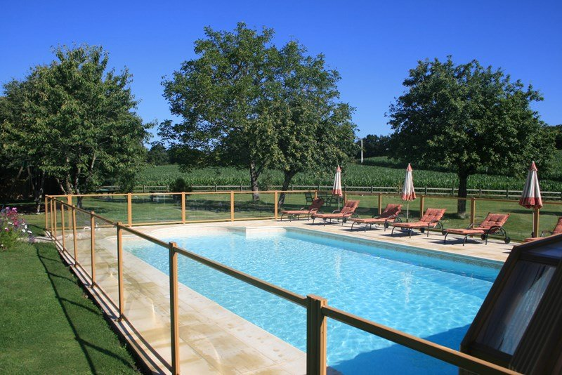 Owners abroad Le Helleguy - Brittany Thatched Cottages - Heated Swimming Pool