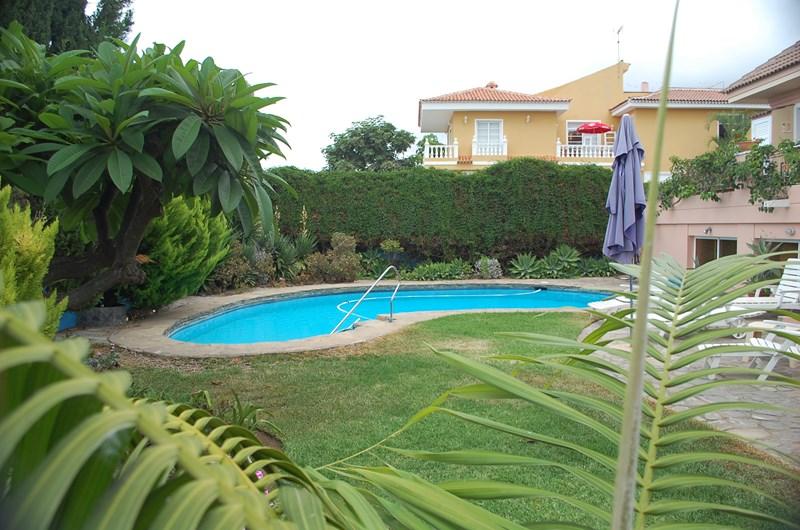 Villa in Spain, Puerto de la Cruz: The swimming pool