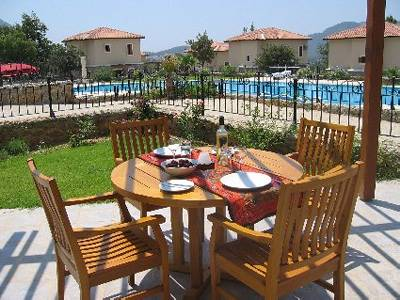 Villa in Turkey, Hisaronu: The patio