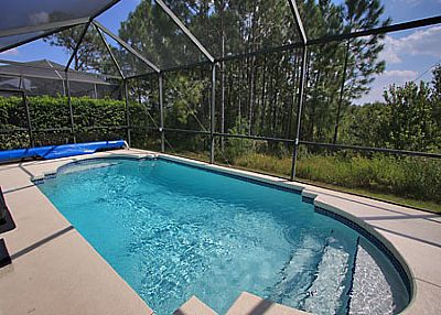 Villa in USA, Sunset Lakes: South facing pool