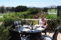 Villa in Spain, Mijas Golf: Dining on the terrace