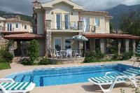Villa in Turkey, Ovacik: Private pool, large shady terrace, 2 balconys, BBQ