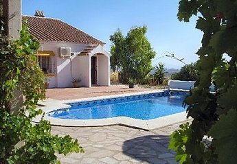 Villa in Spain, Villanueva de la Concepcion: View of pool and side of Casa Sofia