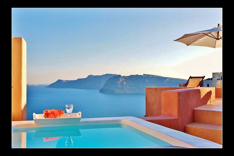 Studio apartment in Greece, Oia