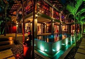 Villa in Bophut, Koh Samui: Villa by Night