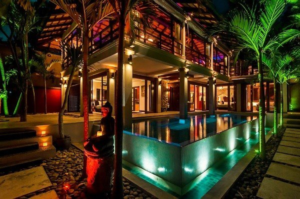 Villa in Thailand, Bophut: Villa by Night