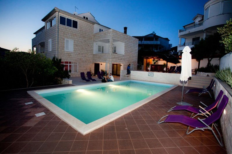 Apartment in Croatia, Hvar: Private pool bar only for villa s guests